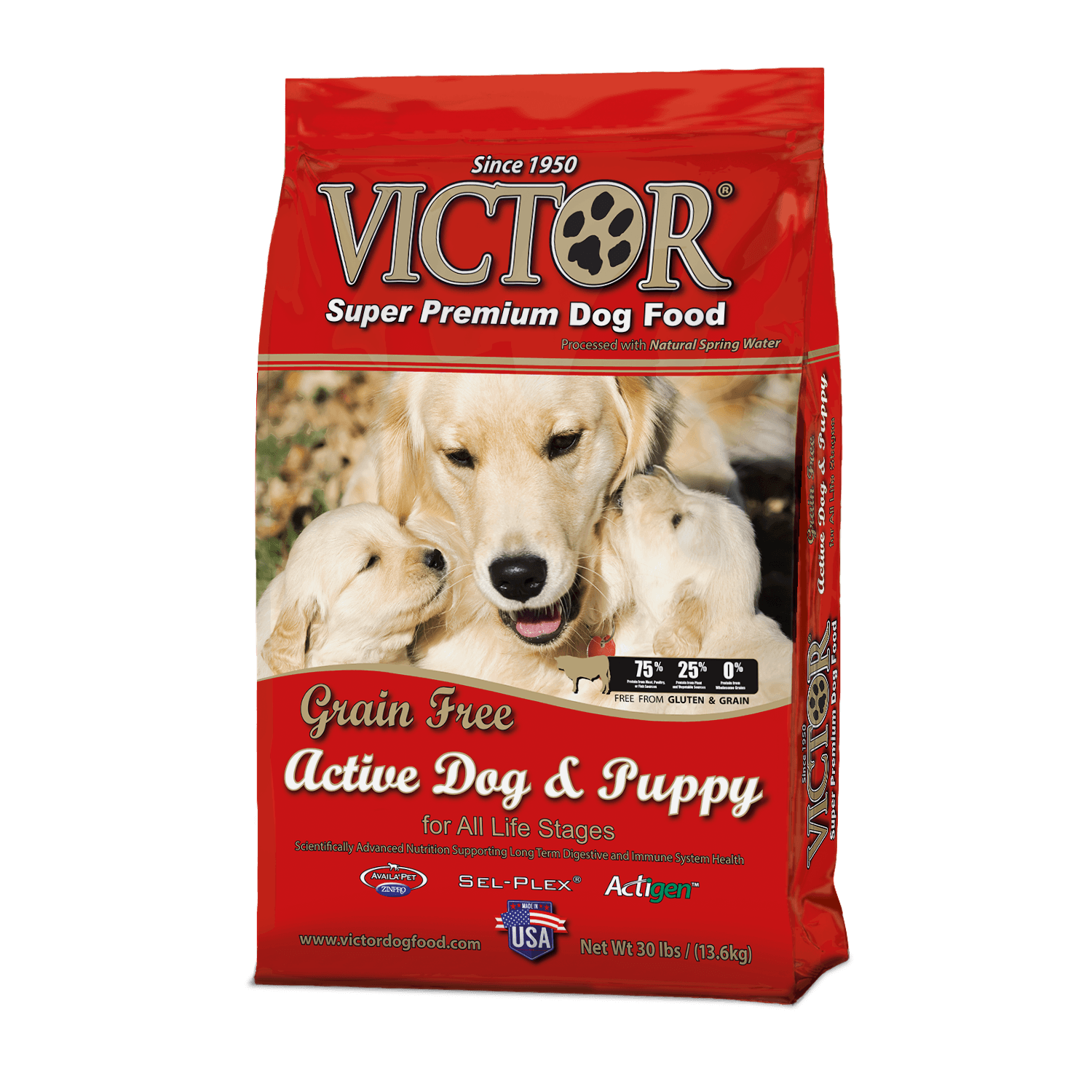 Victor Grain Free All Life Stages Dog Food 30 Lb.