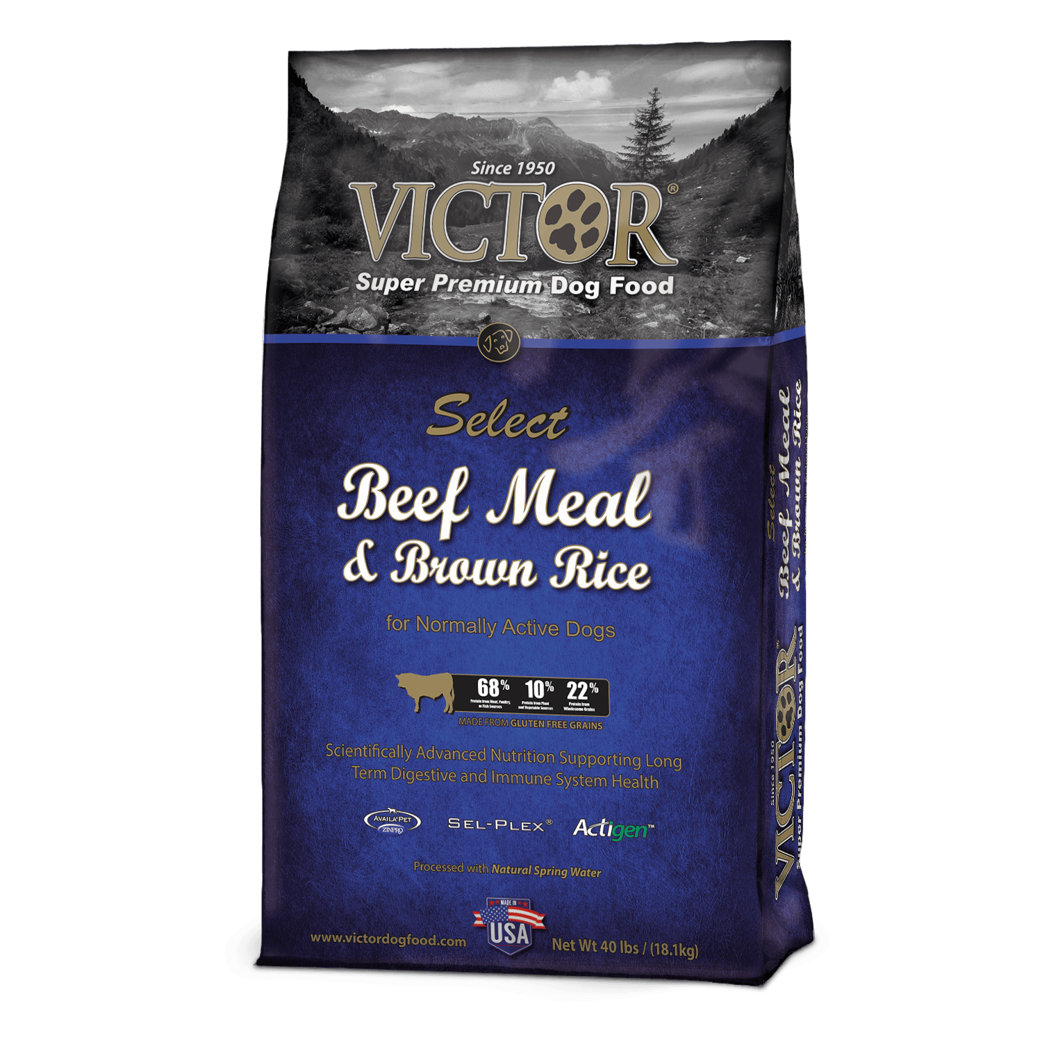 Victor Beef And Rice Dog Food