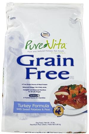 Purevita Turkey Amp Sweet Potato Grain Free Dog 25 Lb