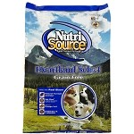 NutriSource Bison Grain Free Heartland Select Dog 30 lb