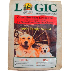 Nature's Logic Natural Beef Dog Kibble 15 Lb