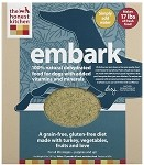 Embark Dehydrated Raw Turkey Dog Food 10 Lb