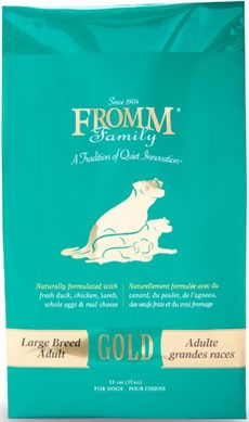 Fromm Gold Large Breed Adult Dog 33 lbs