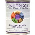 Dogswell Nutrisca Dog Food, Chicken & Chickpea Stew Recipe - 13 oz