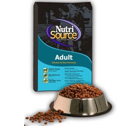 NutriSource Adult Chicken & Rice Dog 33 lb