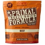 Primal Beef Freeze Dried Dog 14 oz