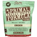 Primal Chicken Freeze Dried Dog 14 oz
