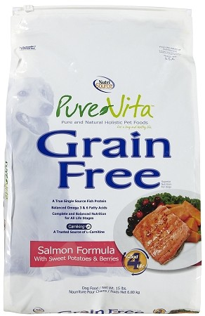 PureVita Salmon & Sweet Potatoes Grain Free Dog 25 lb