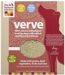Verve Dehydrated Raw Beef Dog Food 10 Lb