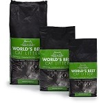 World's Best Clumping Cat Litter 28 Lb