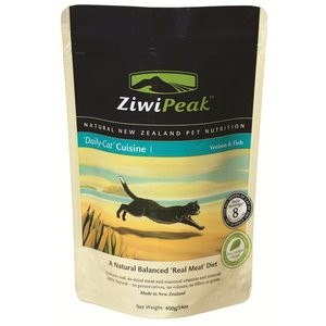 ZiwiPeak Fish & Venison Daily-Cat Cuisine 14 oz