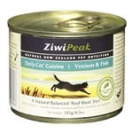 ZiwiPeak Fish & Venison Daily-Cat Cuisine 12/6.5 oz